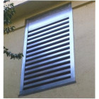 Acoustic Louvres for environmental noise control