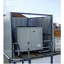 Acoustimodules - External Perforated Modular Acoustic Barrier Panels