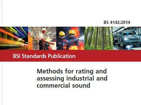 bs4142 method for rating industrial noise affecting mixed residential and industrial areas