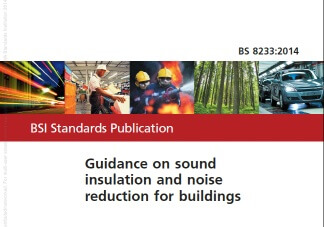 bs 8233 Sound insulation and noise reduction for buildings - code of practice