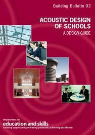 bb98 acoustic design of schools