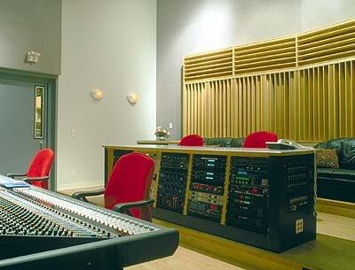 RPG QRD Diffuser panel in recording studio