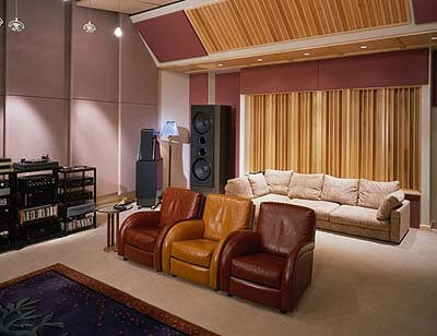 RPG QRD Diffuser panel in home cinema