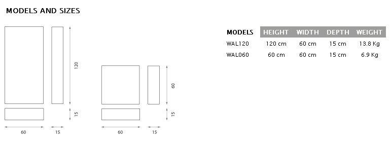 Jocavi walltrap technical drawing detail