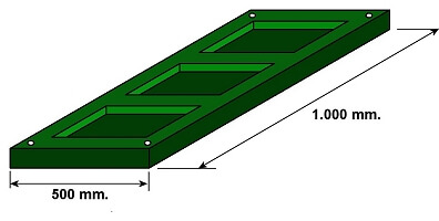 external acoustic panel isometric