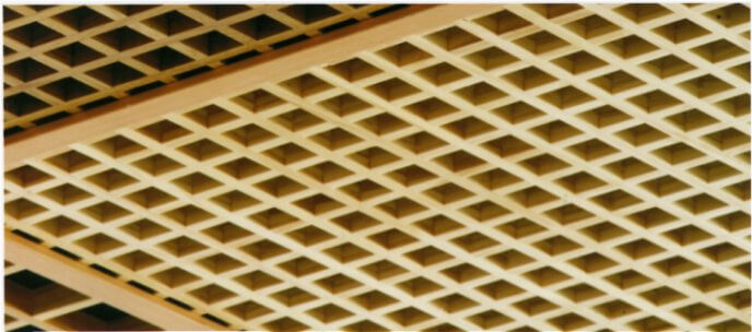 I-Grid blades acoustic timber panel systems