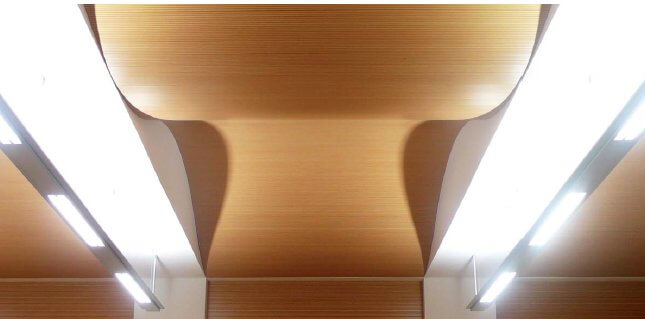 -acoustic FLEX curved acoustic timber