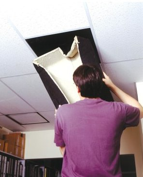 Acoustic Rated Fire Hoods for Ceiling Downlighters