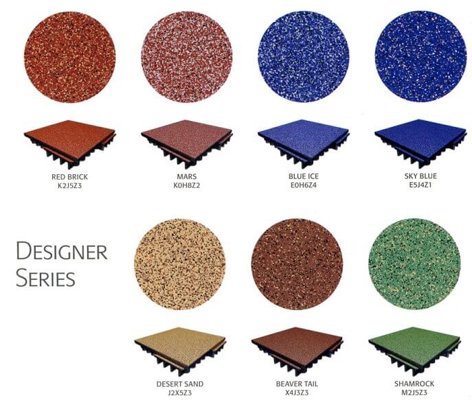 Fit 30 and FIT 70 designer series tile colour availability