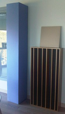 Prosonic acoustic Totem freestanding in an office