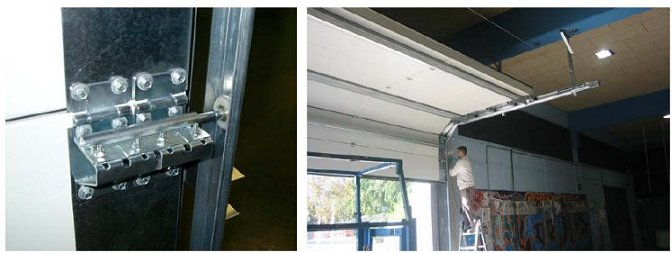 acoustic rated roller shutter doors showing installation