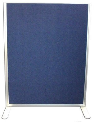 acoustic office screens end view