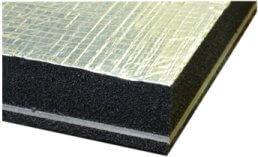 foil faced foam barrier composite sheet for engine bay lining