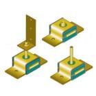 Akustic + Sylomer Anti-vibration Mounts