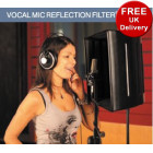 Vocal Mic Reflection Filter