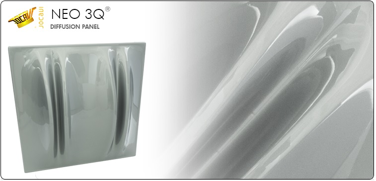 jocavi neo 3Q acoustic diffusion panel diffusor
