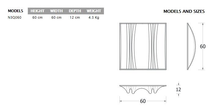 jocavi Neo 3Q isometric drawing sizes models