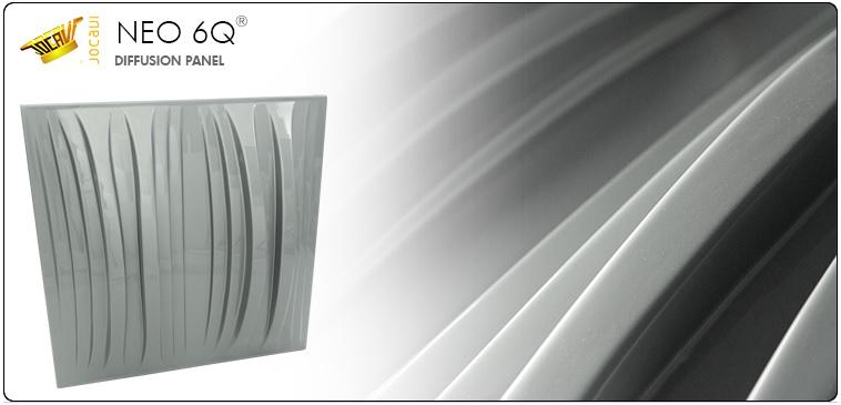 jocavi neo 6Q acoustic diffusion panel diffusor
