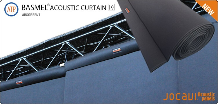 basmel acoustic curtains