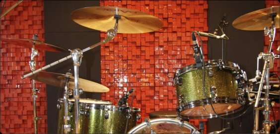 squarydiffusor with drum kit