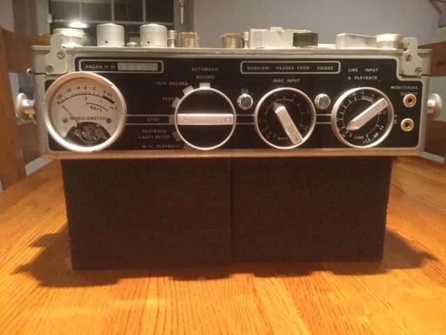 Nagra 3 vintage portable tape recorder