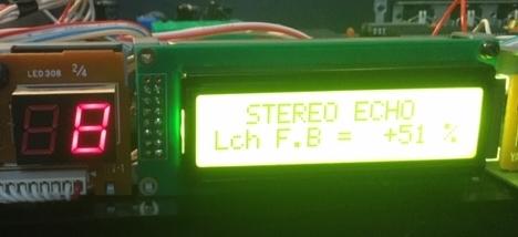 Yamaha spx90 lcd display after raplcement
