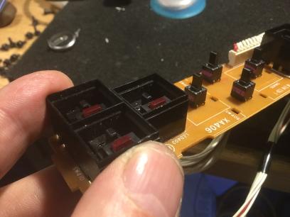 yamaha spx 90 switch board repair