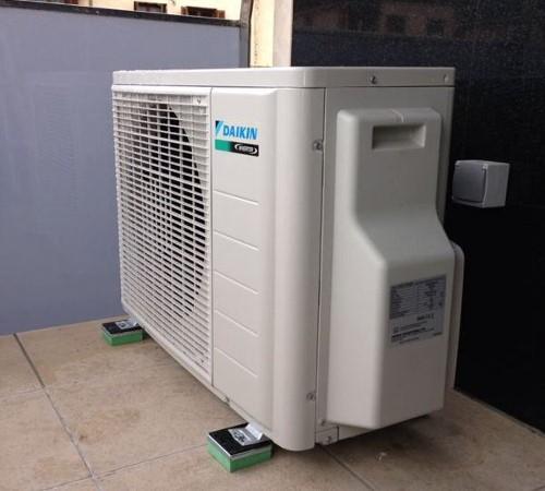 TSR anti vibration mounts installed
