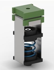 cutaway speaker anti-vibration hanger