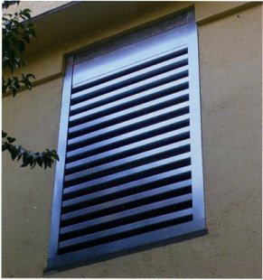 sound reducing louvers