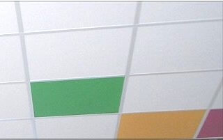 acoustic ceiling grid tiles for T24