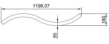acoustic wave panel cross sectional diagram