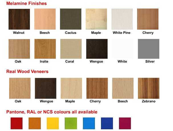 wood veneer finishes for i-acoustic system