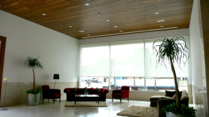 I-Slats blades acoustic timber panel systems