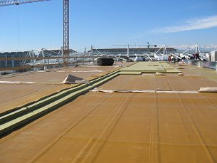Acoustic Roof on Torino Stadium - Italy