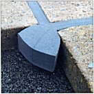 foam sealing tape used between slab joints