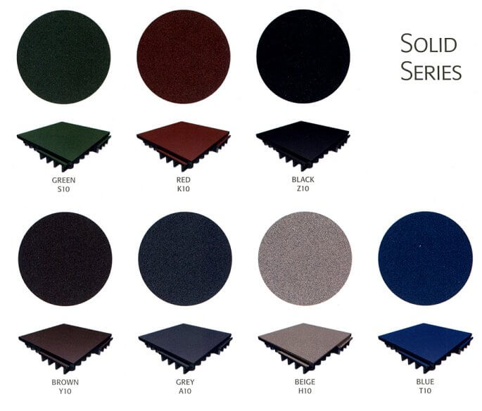 Fit 30 and FIT 70 solid series tile colour availability