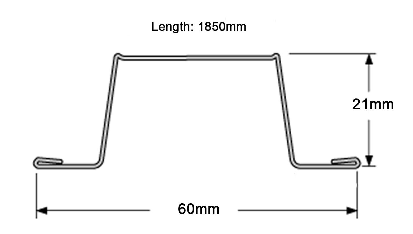 Genie Clip 1850mm Furring Channel