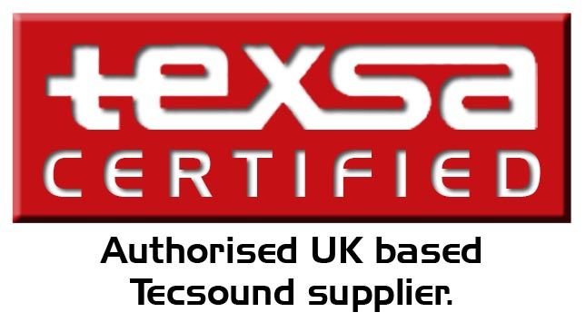 Texsa Certified - We are the only authorised UK based Tecsound Supplier